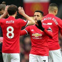 Alexis fue titular en empate del United ante Valencia por la Champions League