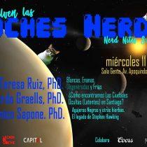 Comienzo nuevo ciclo Noches Nerd con María Teresa Ruiz en Sala Gente