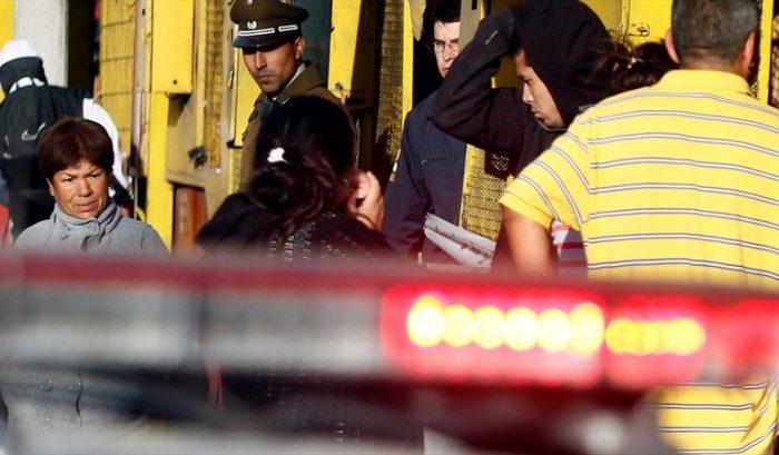 Hombre falleció apuñalado en pelea en el centro de Santiago