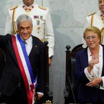 Piñera tras recibir de Bachelet la piocha de O'Higgins asume por segunda vez como Presidente de la República