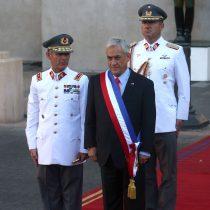 [VIDEO] El primer saludo de la Guardia del Palacio a Sebastián Piñera tras su arribo a La Moneda