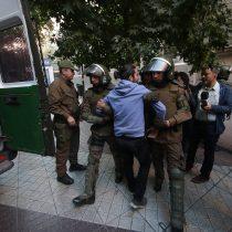 Confech presentó una querella por la agresión de Carabineros hacia un estudiante durante protesta
