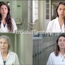Colegio Médico y presidenta Bachelet lanzan campaña para terminar con el acosoy discriminación a las mujeres en la práctica médica