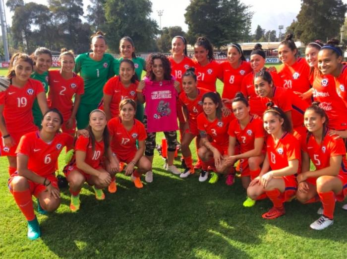 Krespita Rodríguez le entrega todo su apoyo a la selección femenina ad portas de la Copa América