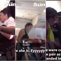 [VIDEO] Aerolínea castiga a pasajera que mantuvo relaciones en el baño de un avión junto a un desconocido