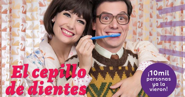 """Obra """"El cepillo de dientes"""" de Jorge Díaz en Teatro UC"""