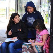 Estudio revela que sólo un 19%de los chilenos cree que los colegios son efectivos enla protección hacia los niños y niñas