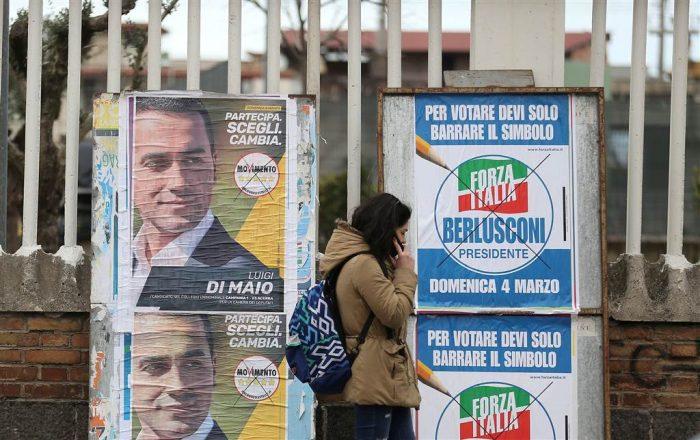 Italia va a las urnas con dos fuerzas populistas liderando las encuestas y la estabilidad de la Unión Europea en juego