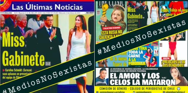 Lanzan campaña Medios No Sexistas en el marco del DíaInternacional de la Mujer
