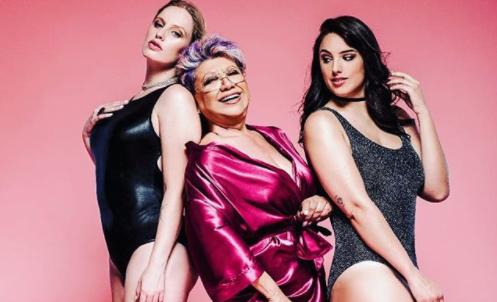 """""""Me atreví y qué"""", las bellas fotos de Patty Maldonado con modelos """"curvy"""""""