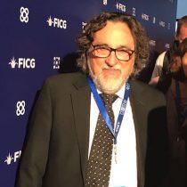 Silvio Caiozzi ya está en Guadalajara para participar en el Festival de Cine más importante de América Latina