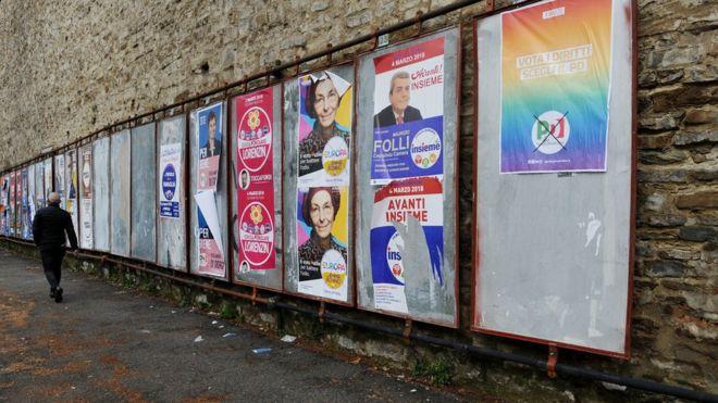 Incierto resultado de las elecciones pone en peligro la formación de un gobierno en Italia