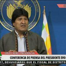 [VIDEO] Evo Morales califica a parte de la prensa chilena como