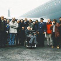 Las huellas del genio de Hawking en sus dos visitas a Chile