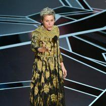 Cláusula de inclusión: el método que propuso Frances McDormand para una mayor diversidad en Hollywood