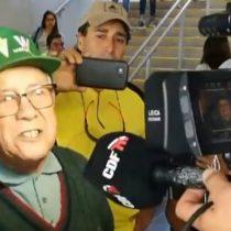 [VIDEO] El desgarrador descargo de un longevo hincha de Santiago Wanderers tras un nuevo tropiezo