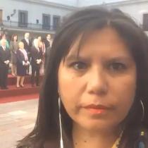 [VIDEO] Marcela Jiménez desde La Moneda: Mandataria deja la Presidencia sin cerrar Punta Peuco