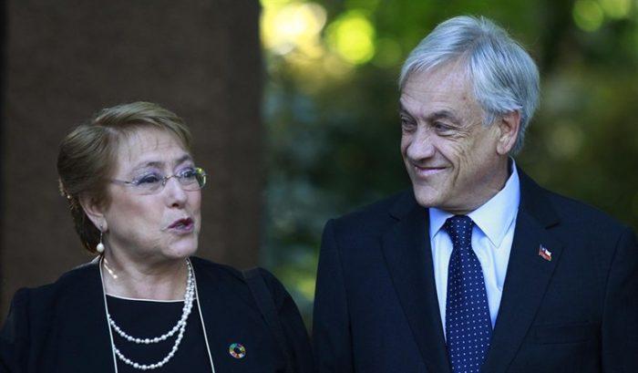 Los hitos de Bachelet y el silencio de Piñera en descentralización