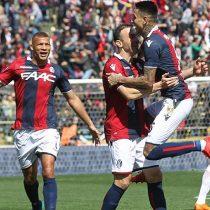 [VIDEO] Erick Pulgar sigue siendo la figura del Bologna al anotar golazo en empate ante la Roma