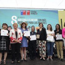 """Bachelet en el día de la mujer: """"Quiero invitarlas a no bajar los brazos, a no retroceder y seguir trabajando para derribar los prejuicios y erradicar la violencia"""""""