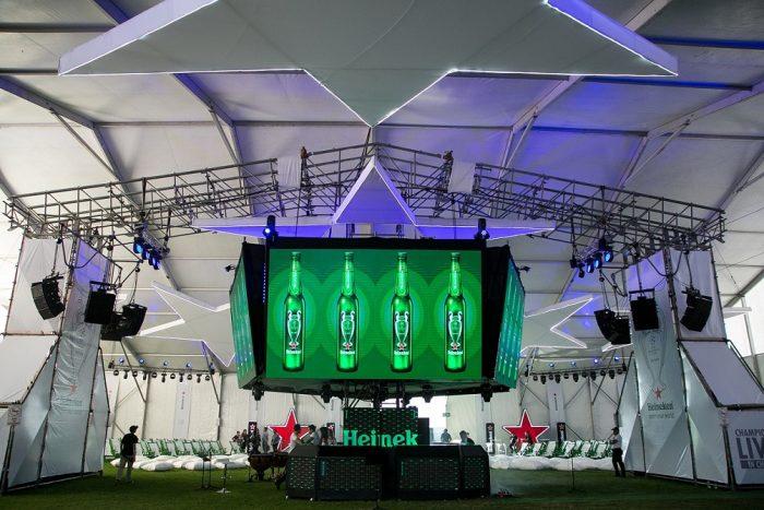 La semifinal de la Liga de Campeones se vivió con Heineken en Champions Live in Chile