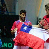 Jarry y Podlipnik ganan en dobles y dejan a Chile a un paso de la victoria