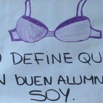 Escolar fue sancionada en el colegio por no usar sostén: