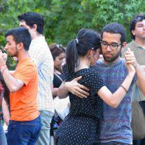 Milonga Callejera practica de Tango y gratuita en Centro GAM