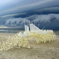 Algoritmos del viento: Los monstruos mágicos del artista Theo Jansen