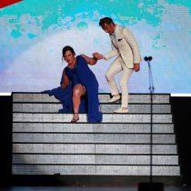La caída de Daniela Vega en los Premios Platino que la actriz aprovechó para iniciar su discurso