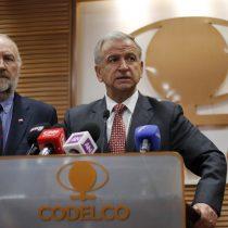 Ministro de Hacienda aseguró que continuará con proceso de capitalización de Codelco