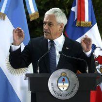 Piñera en visita oficial a Buenos Aires: