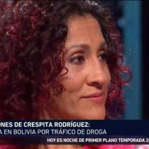 """Crespita Rodríguez habló de sus duros días en Bolivia y por qué decidió transportar droga: """"Quería pagar lo que debía"""""""
