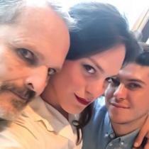Daniela Vega se encontró con Miguel Bosé y se llenaron de elogios