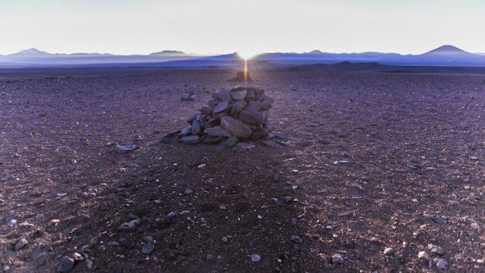 Investigadores identifican sistema astronómico de los inka en el desierto de Atacama
