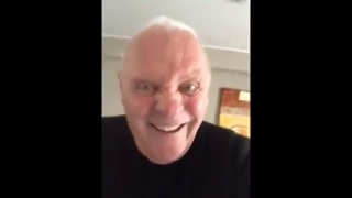 La explicación del inquietante video publicado por Anthony Hopkins en Twitter
