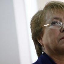 Bachelet acusa al gobierno de Piñera de