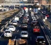 Movilización contra el tag provocó gran congestión vehicular y un saldo de siete detenidos