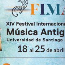 Festival Internacional de Música Antigua en Universidad de Santiago