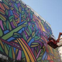 El diálogo intergeneracional del muralismo de Sebastián González y Alejandro