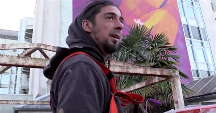 Inti Castro, el embajador del street art en el mundo: «El arte no cambia a la sociedad pero la educa»