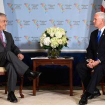 Vicepresidente de Estados Unidos agradece apoyo de Piñera a combate contra las armas químicas sirias