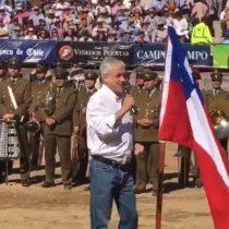 [VIDEO] La férrea defensa de Sebastian Piñera al rodeo como deporte nacional