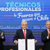 El inflado anuncio de La Moneda sobre gratuidad en Educación Técnica: menos de un 10% son los beneficiados