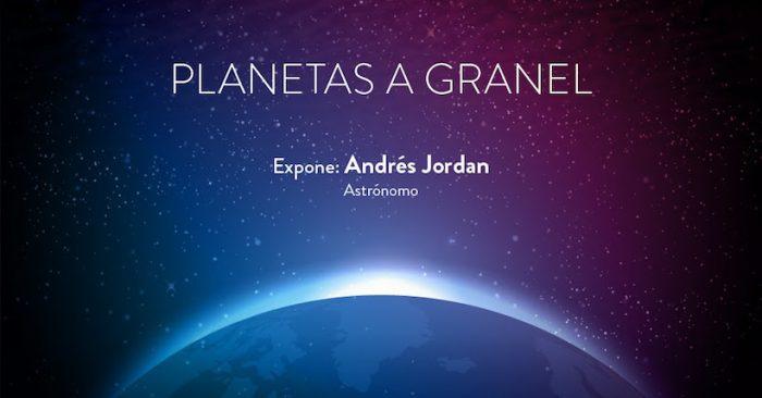 Charla gratuita dictada por el astrónomo Andrés Jordán en Planetario USACH