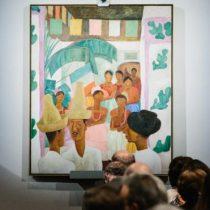 La pintura de Diego Rivera que rompió el récord en subasta para una obra de arte latinoamericano