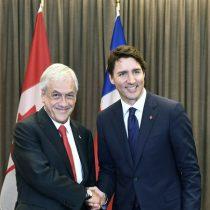 Trudeau felicita a Piñera por sus anuncios contra discriminación a mujeres