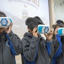Niños y niñas viajan de forma virtual a la Antártica y se convierten en científicos polares