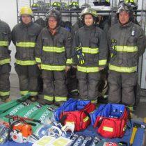 Enel Generación Chile entrega equipamiento para tres nuevas compañías de bomberos de San Clemente