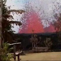 El hombre que encontró la erupción del volcán Kilauea en su jardín de Hawái